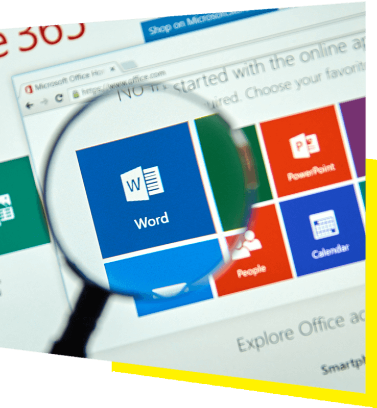 Office Web magnifier